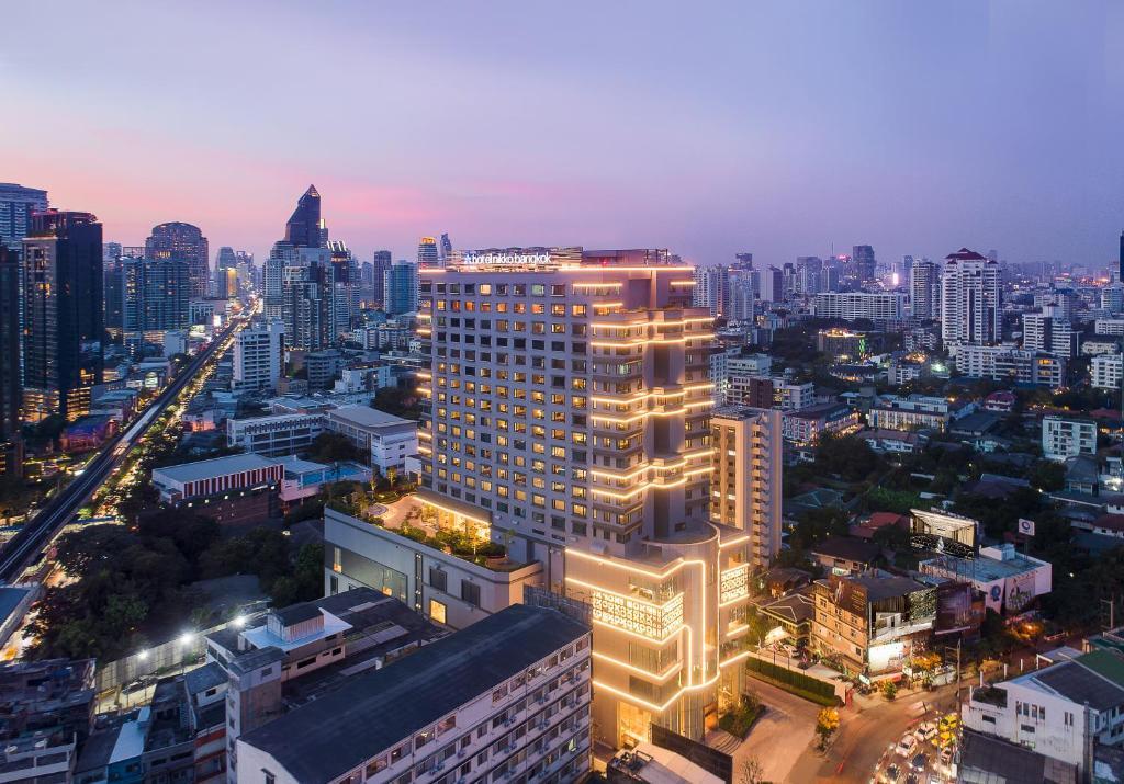 A bird's-eye view of Hotel Nikko Bangkok