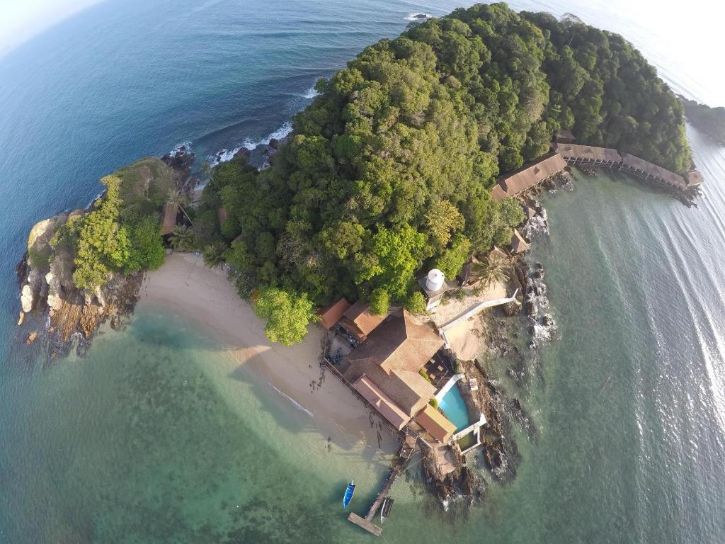 A bird's-eye view of Gem Island Resort & Spa