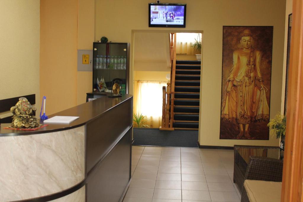 Лобби или стойка регистрации в Отель «Тибет»