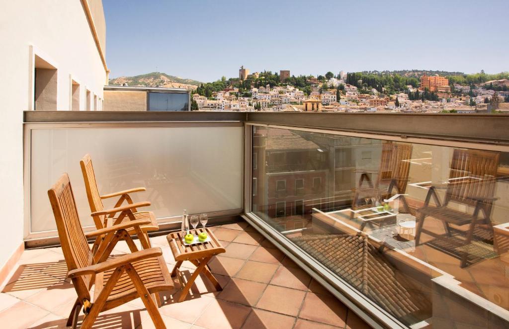 Balcone o terrazza di Meliá Granada