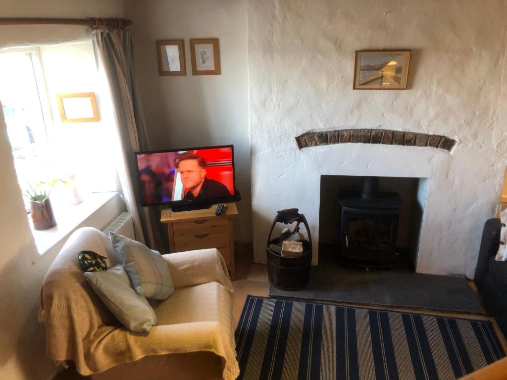 Area soggiorno di Slieve Donard Cottage