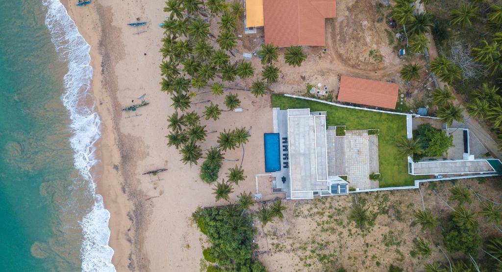 Serendivi Resort Villa с высоты птичьего полета