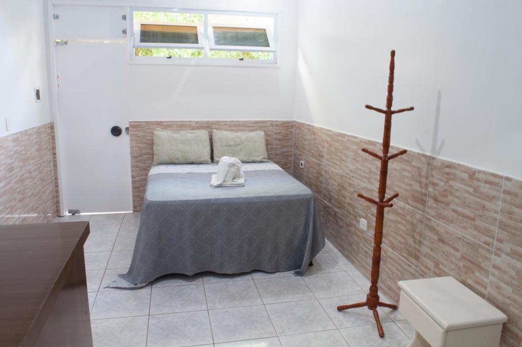 Um banheiro em Pousada Recanto Rubaiyat