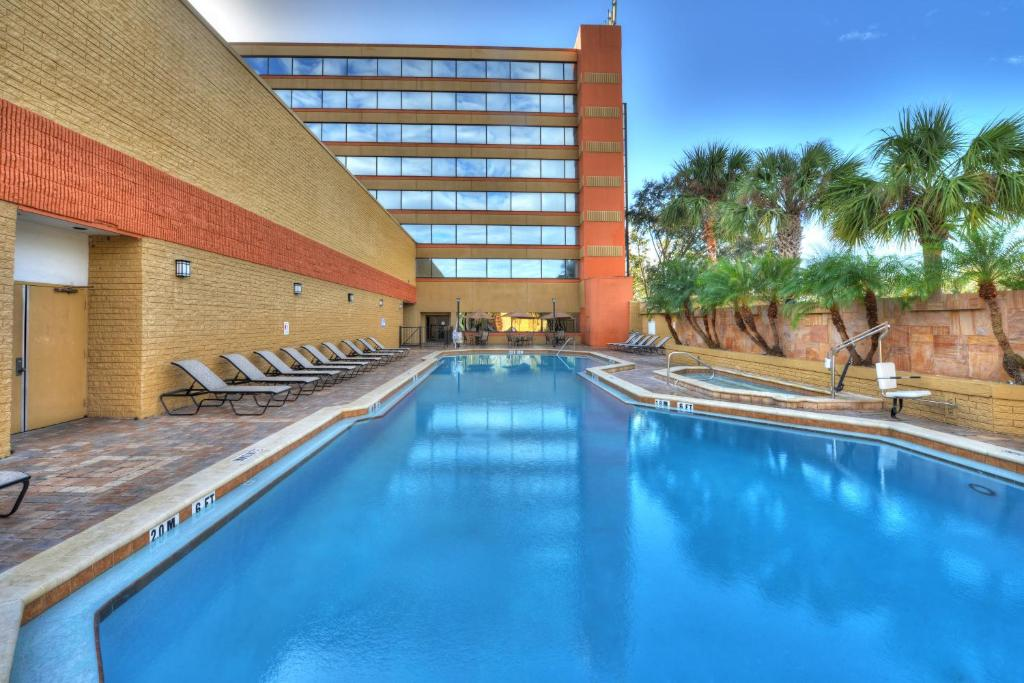 The swimming pool at or near Hilton Orlando/Altamonte Springs