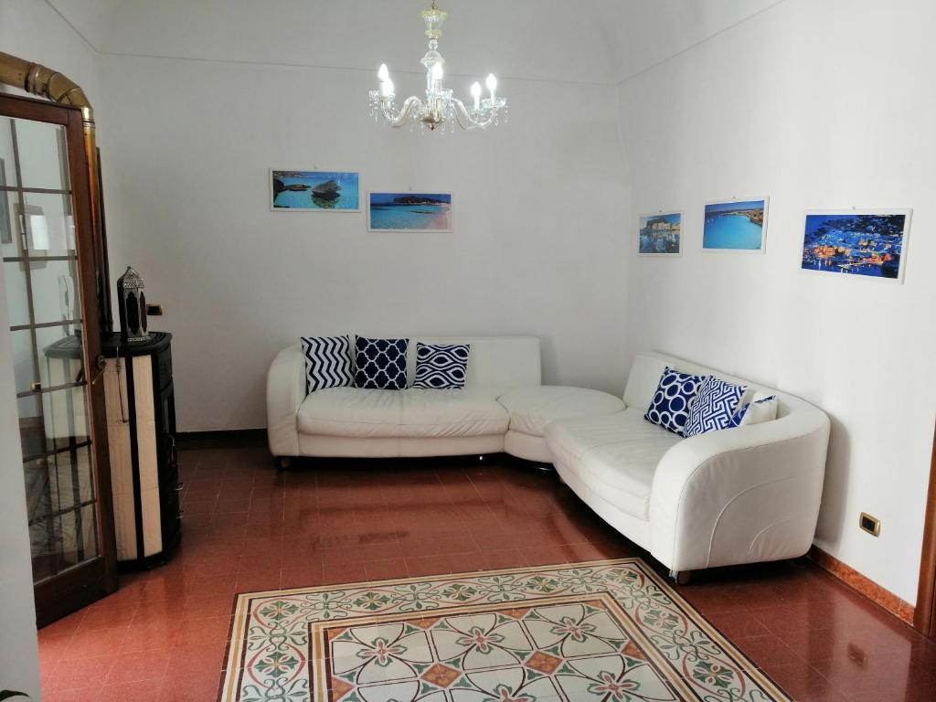Area soggiorno di Casa Centro
