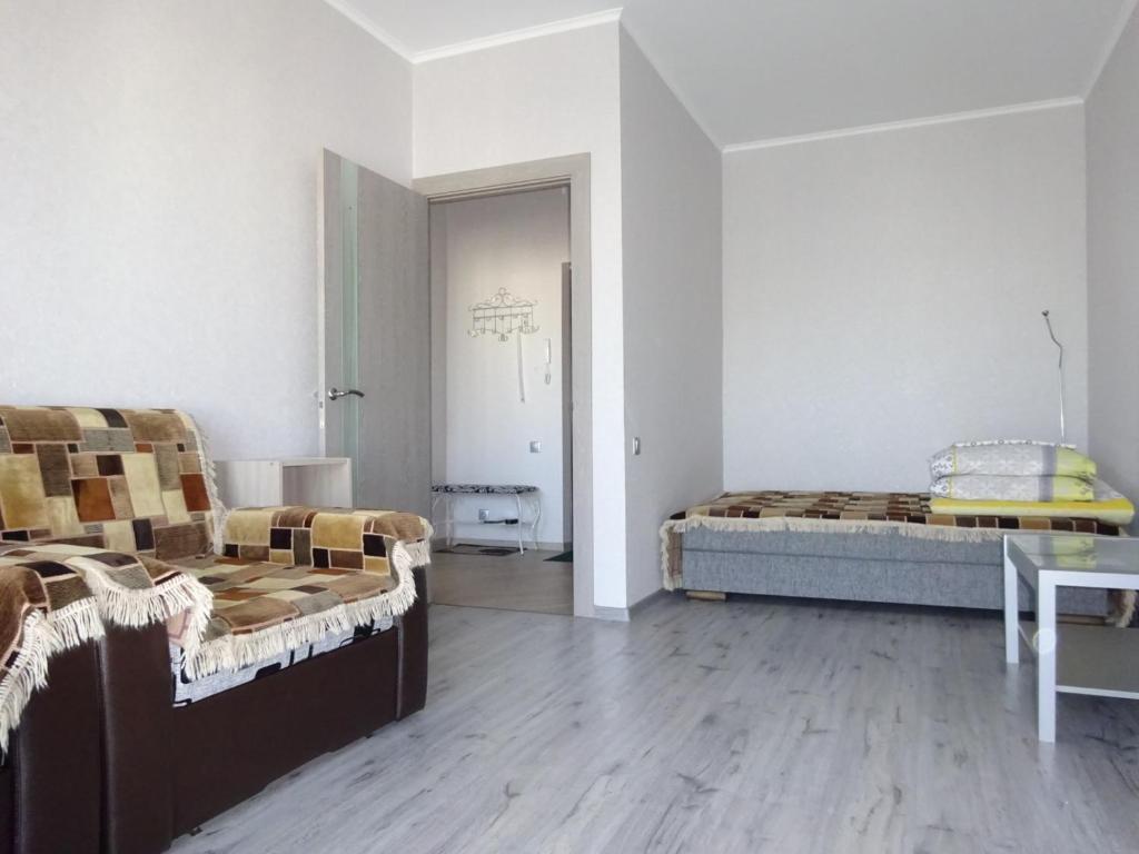 Гостиная зона в Apartments on Marshala Blyukhera 8