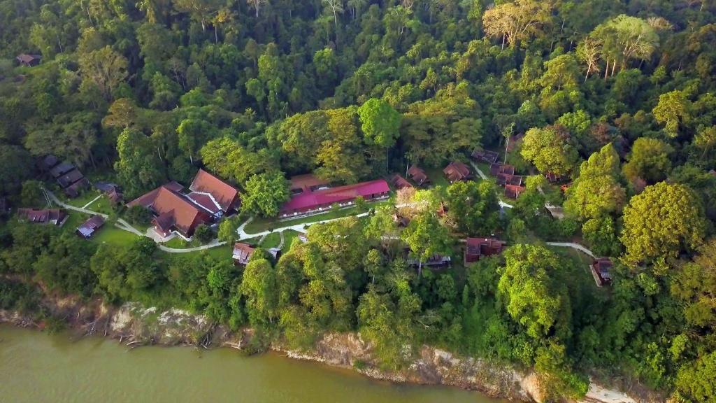 A bird's-eye view of Mutiara Taman Negara Resort