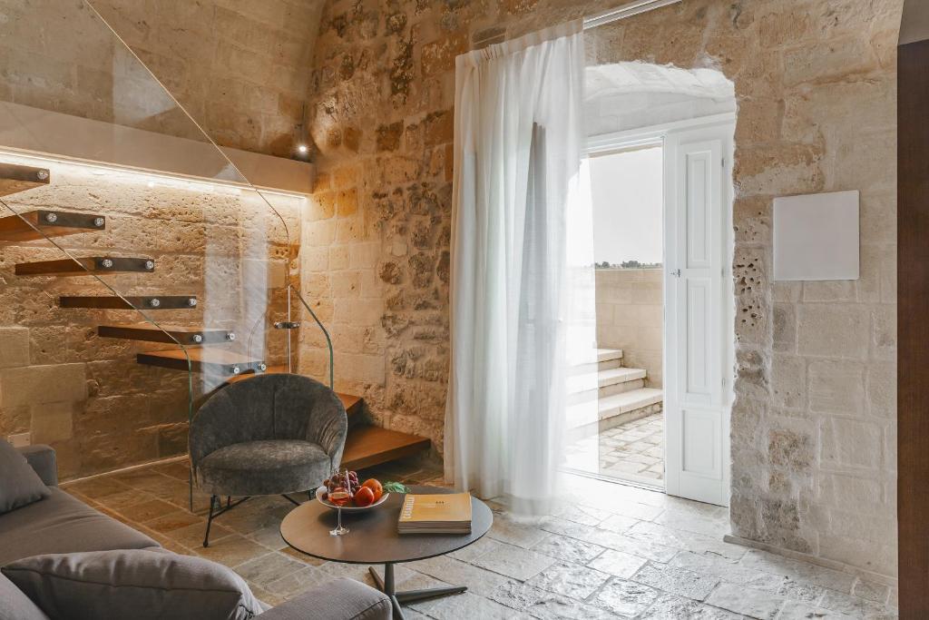 Zona de estar de Cenobio Hotel