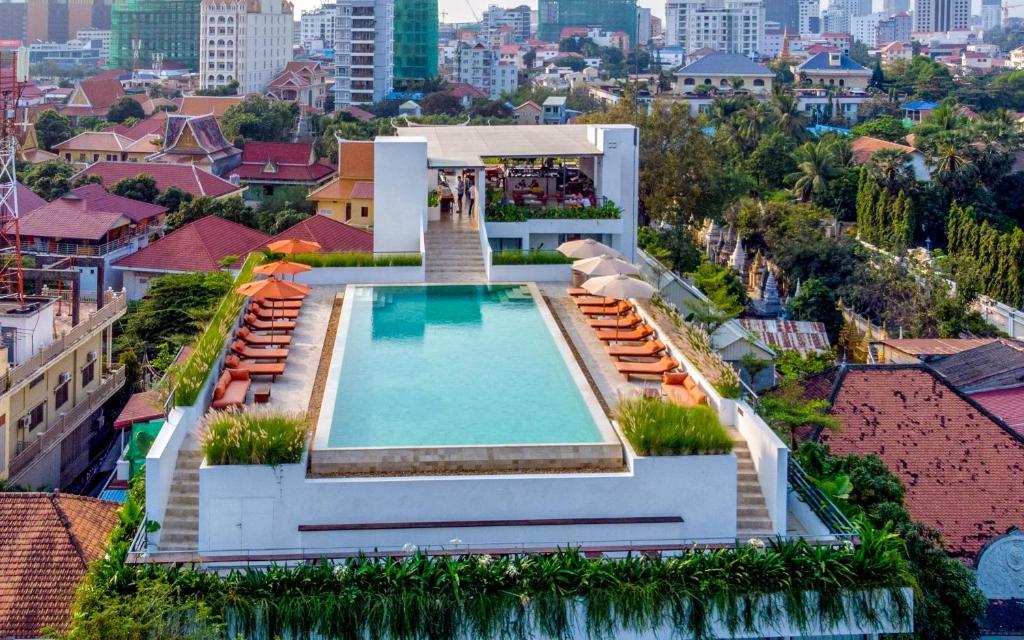 A bird's-eye view of Penh House Hotel