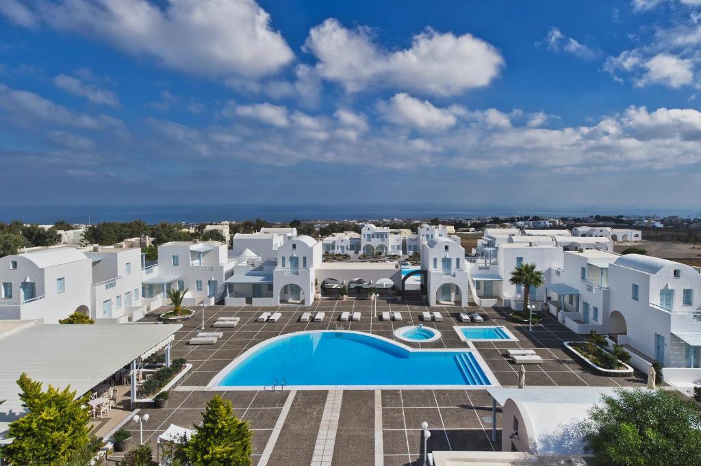 Θέα της πισίνας από το El Greco Resort & Spa ή από εκεί κοντά