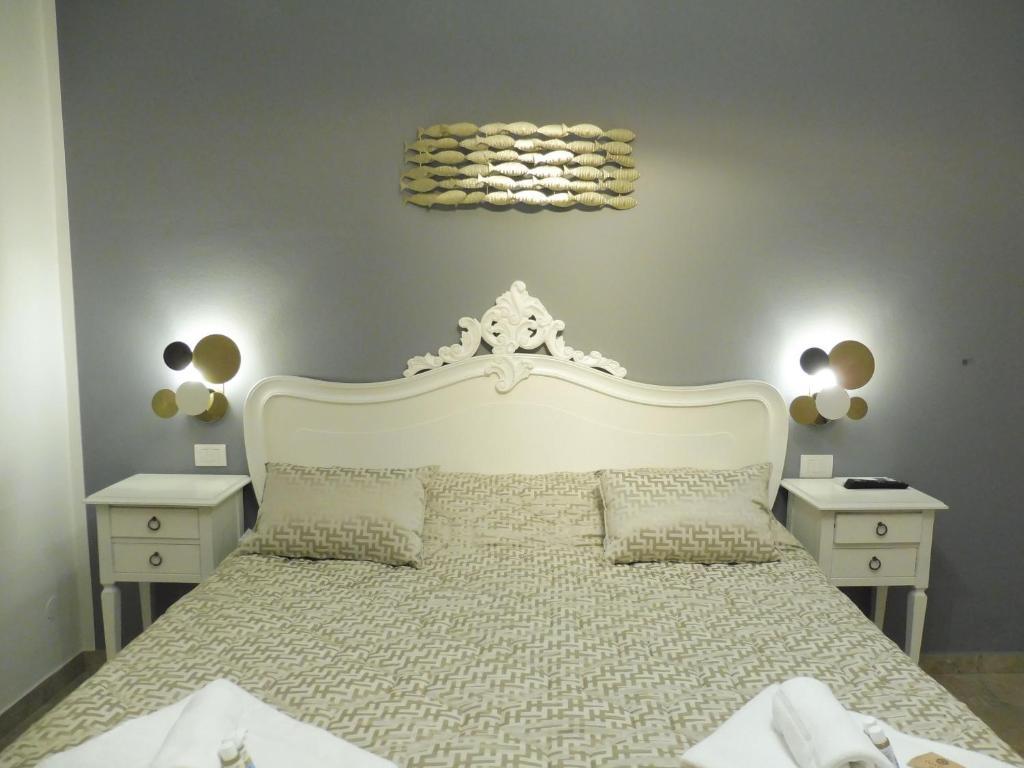 Cama ou camas em um quarto em Rio Groppo Guesthouse