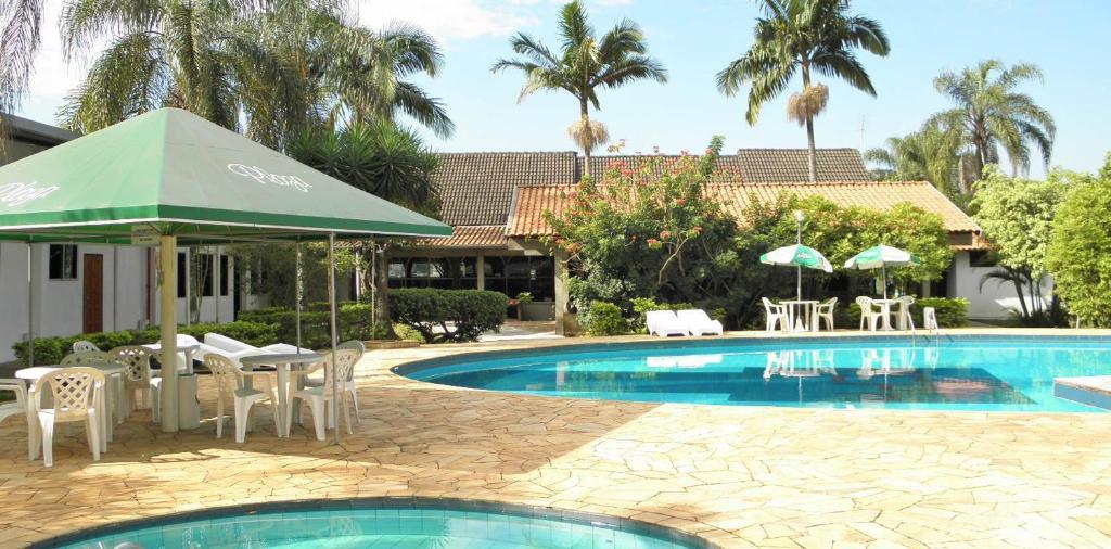 The swimming pool at or near Rio Claro Plaza Hotel