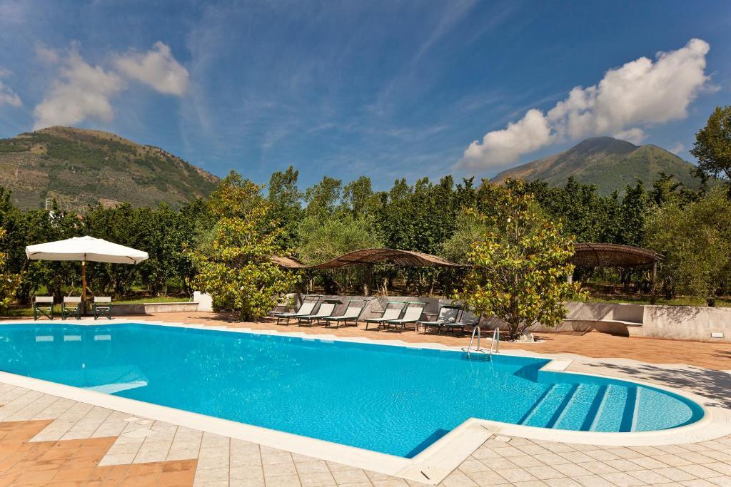Piscina di Hotel Villa Rizzo Resort and Spa o nelle vicinanze