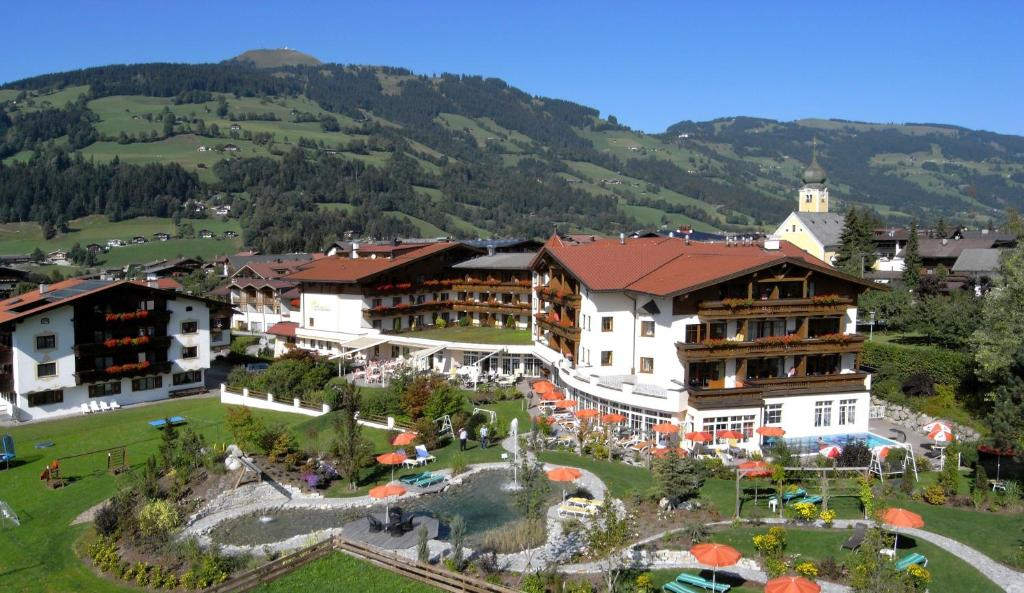 A bird's-eye view of Landhotel Schermer