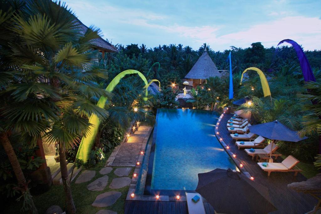 The swimming pool at or near The Sankara Resort by Pramana
