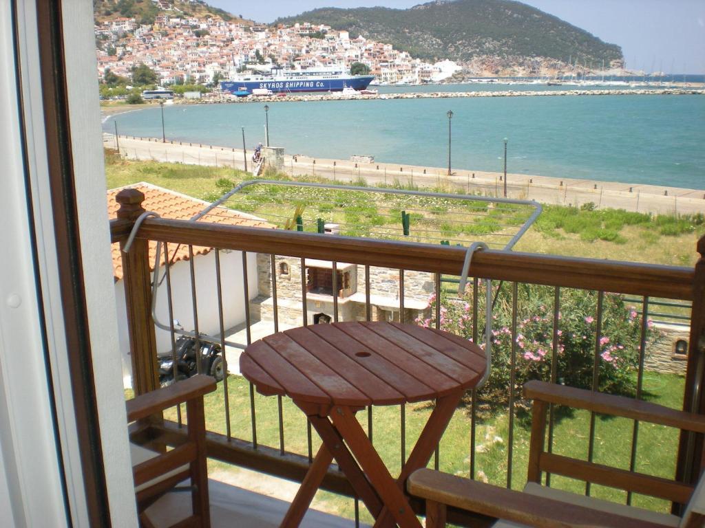 Μπαλκόνι ή βεράντα στο Hotel Antonios