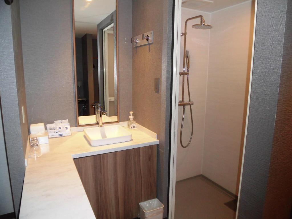 A bathroom at Futakotamagawa Excel Hotel Tokyu