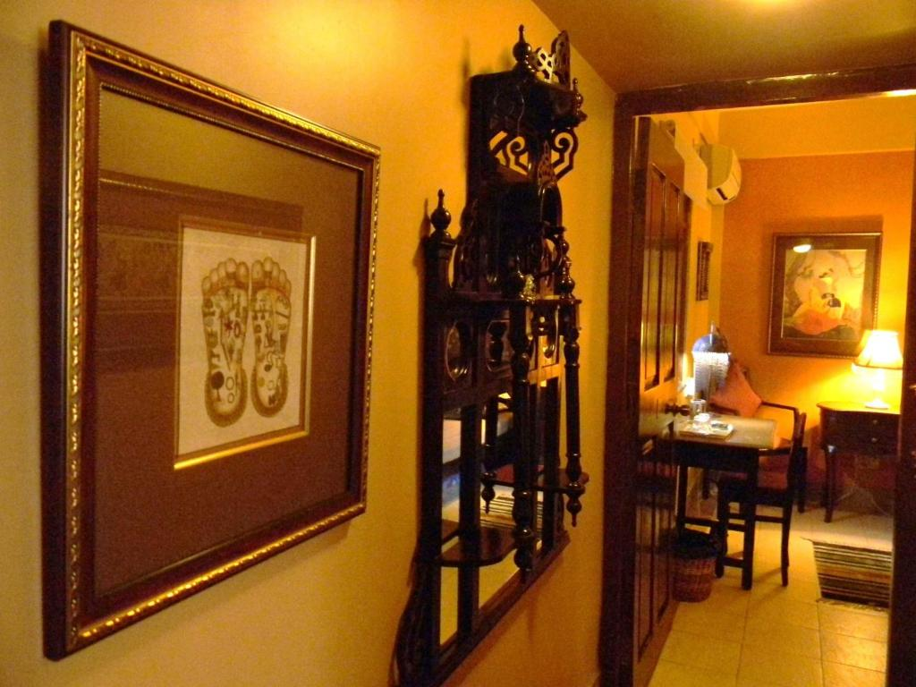 A restaurant or other place to eat at Bodhi Tree