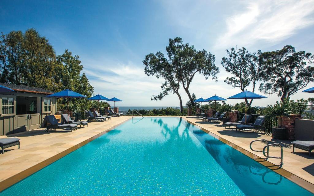 The swimming pool at or close to El Encanto, A Belmond Hotel, Santa Barbara