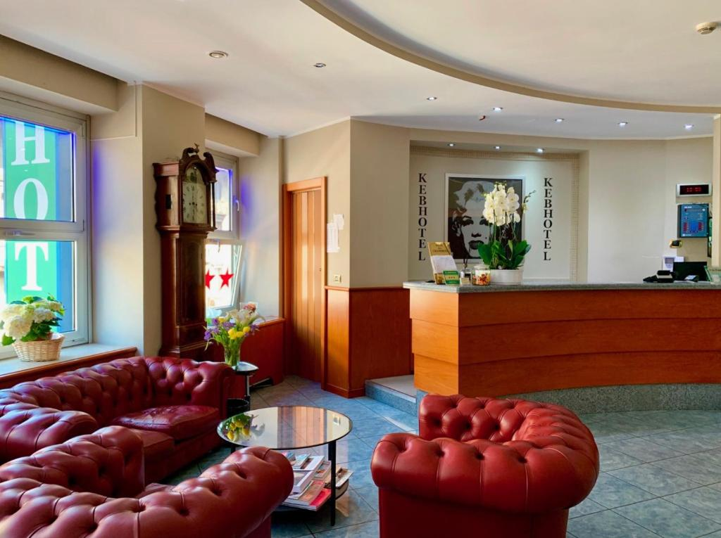 Hall o reception di Keb Hotel