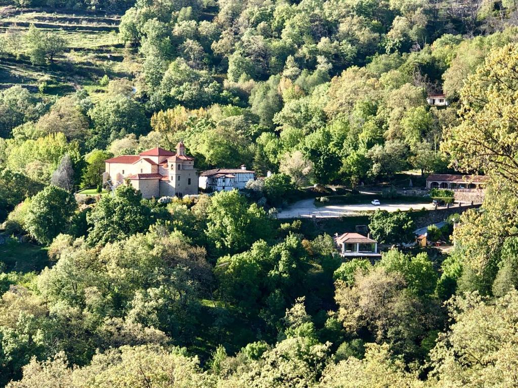 Una vista aérea de Las Terrazas de Chilla
