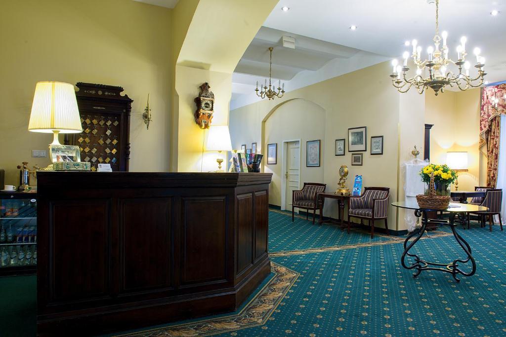 Lobby/Rezeption in der Unterkunft Hotel Gutenbergs
