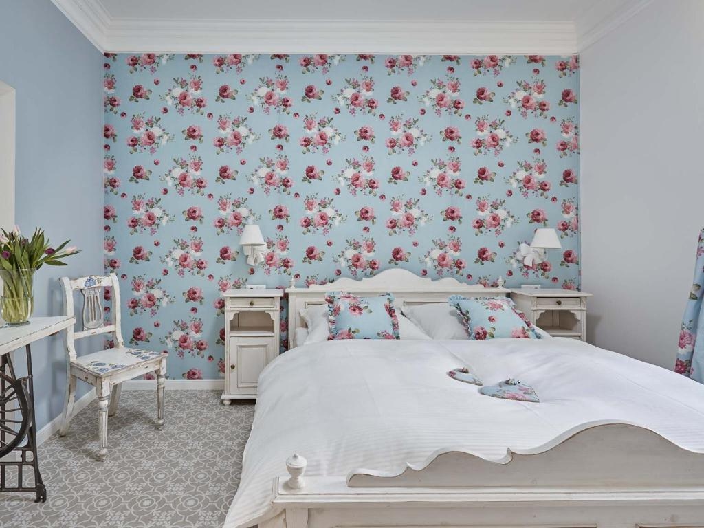 Postel nebo postele na pokoji v ubytování Apart House Plesia2