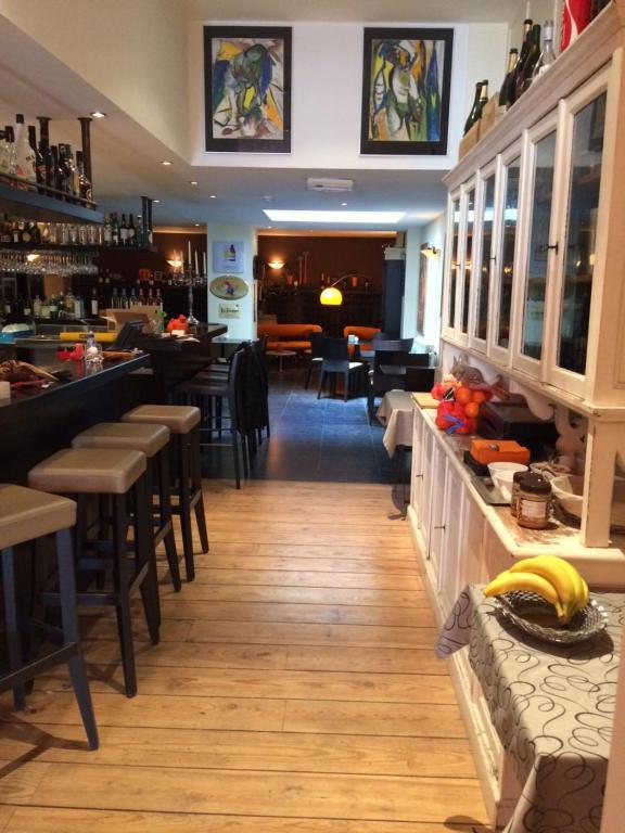 Een restaurant of ander eetgelegenheid bij B&B Geste d' Alice
