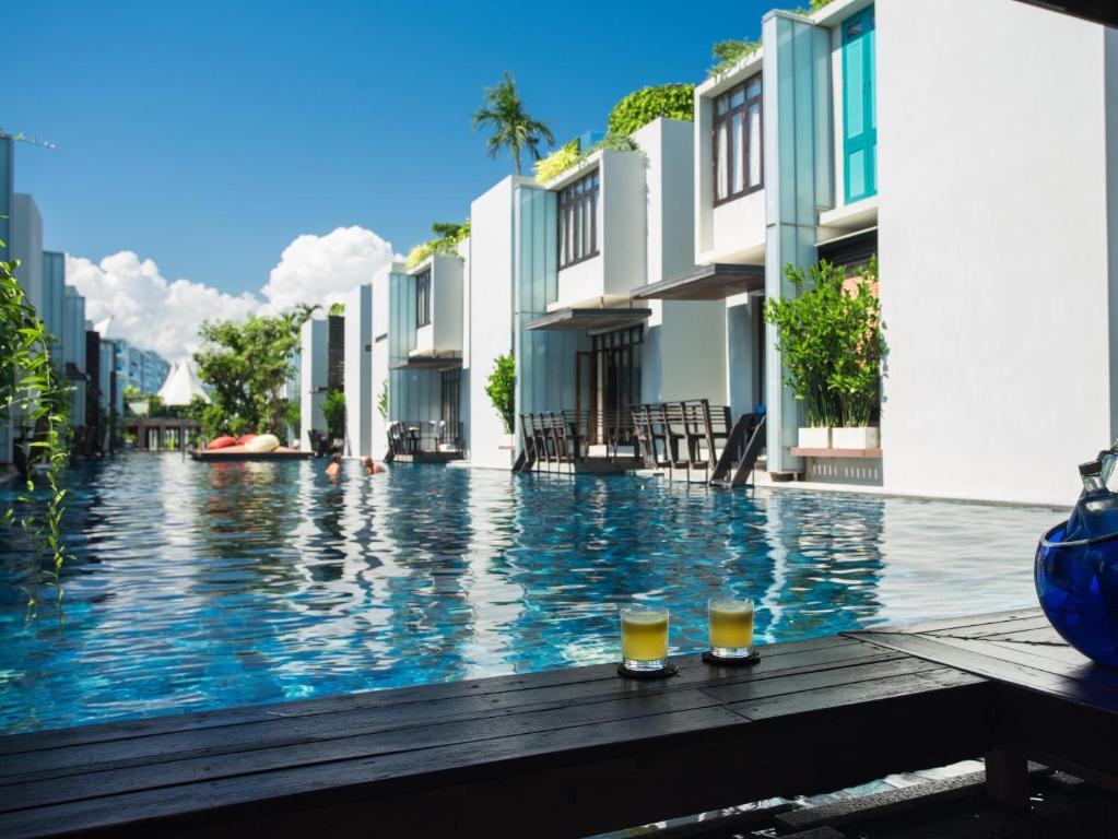 The swimming pool at or near Let's Sea Hua Hin Al Fresco Resort