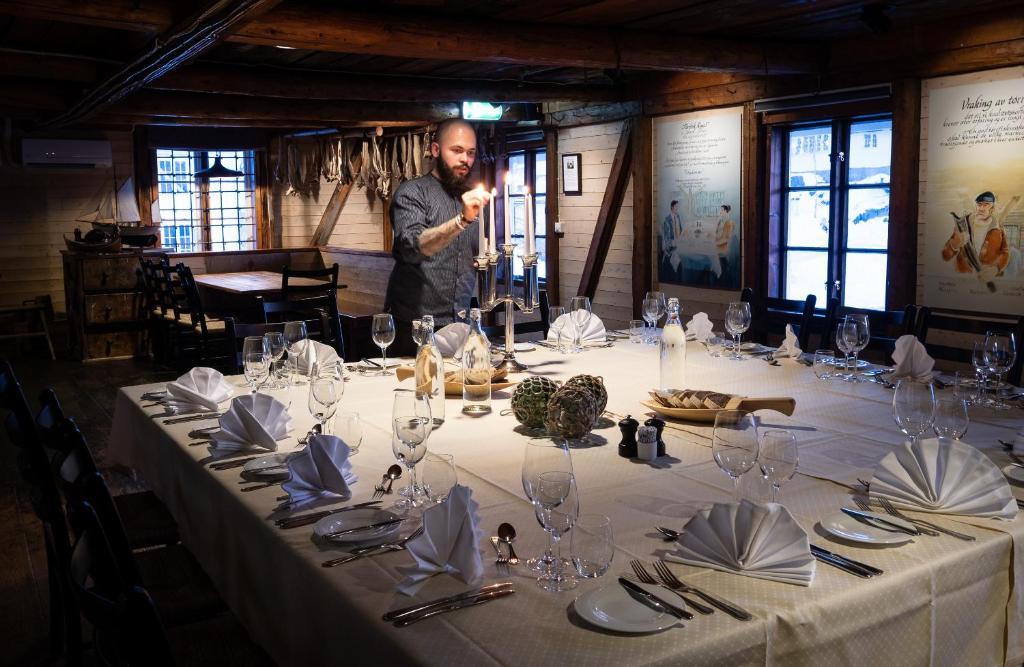 Ristorante o altro punto ristoro di Svinøya Rorbuer