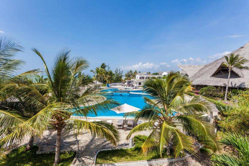 Výhled na bazén z ubytování Twiga Beach Resort & Spa nebo okolí