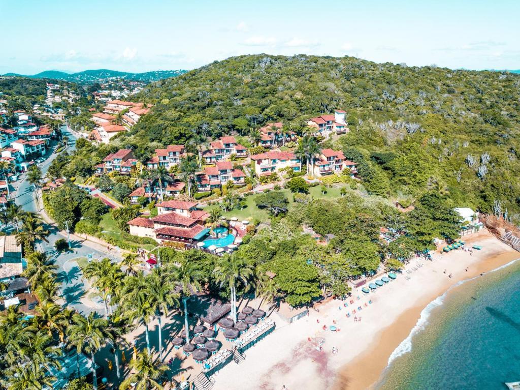 A bird's-eye view of La Boheme Hotel e Apart Hotel