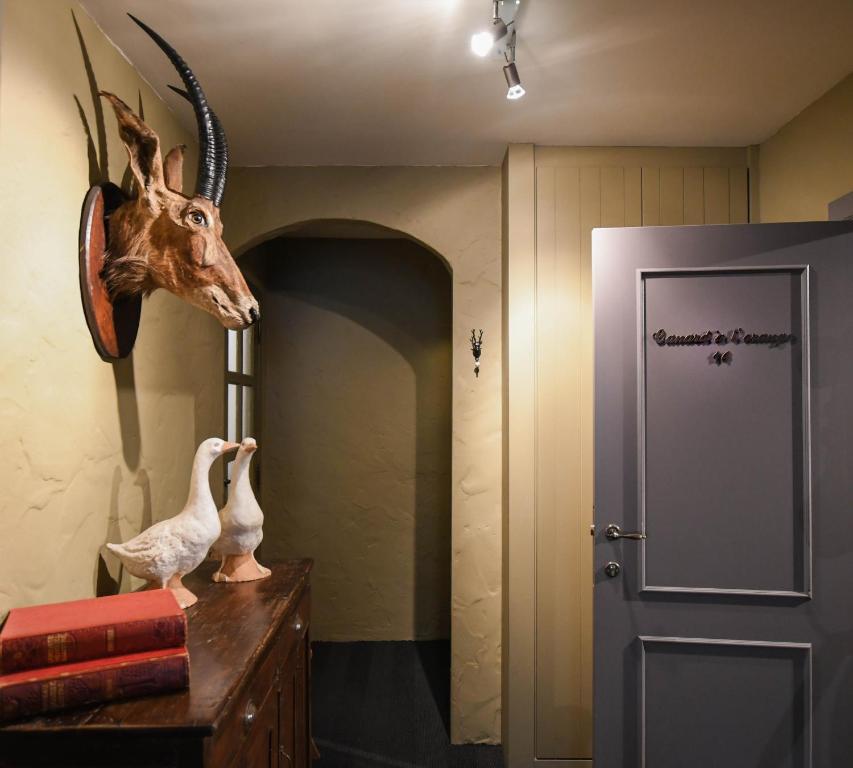 A bathroom at Residentie De Laurier