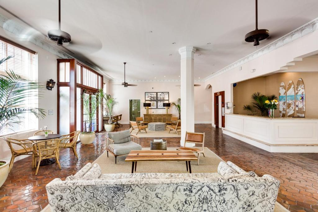 The lobby or reception area at Clinton Hotel South Beach