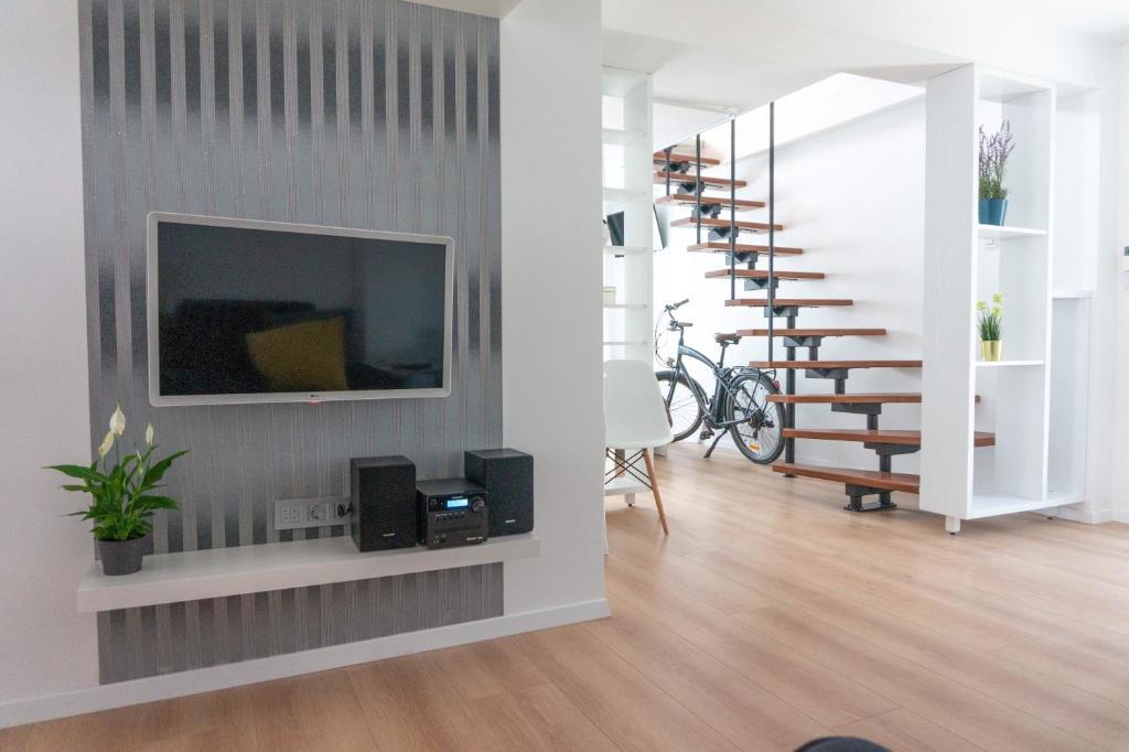 TV i/ili zabavni centar u objektu Apartman Zagreb Maksimir