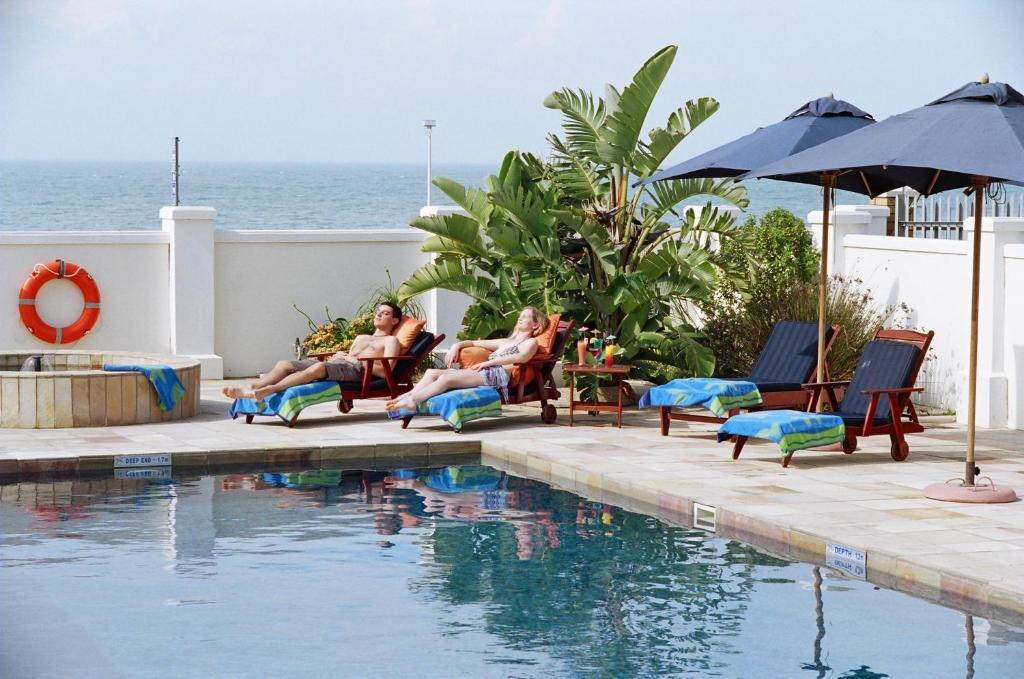 The swimming pool at or near The Beach Hotel