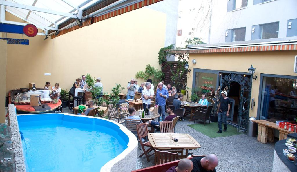 The swimming pool at or near Station - Hostel for Backpackers