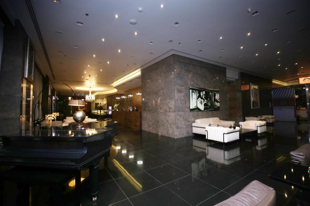 منطقة الاستقبال أو اللوبي في Asdal Gulf Inn Boutique Hotel- SEEF