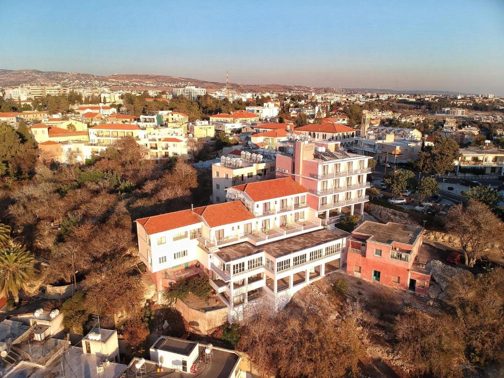 A bird's-eye view of Axiothea Hotel