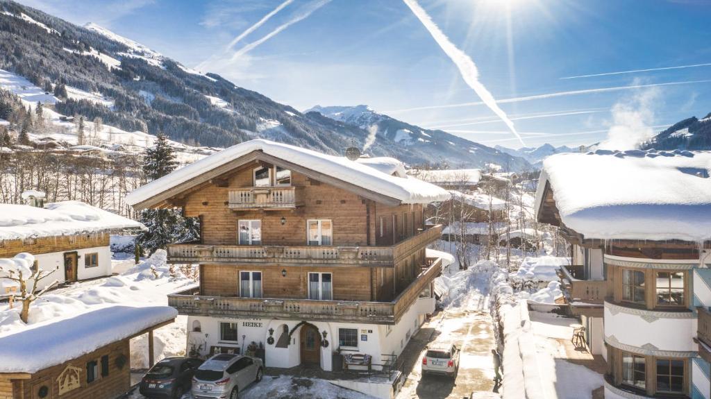 Hotel-Pension Heike im Winter