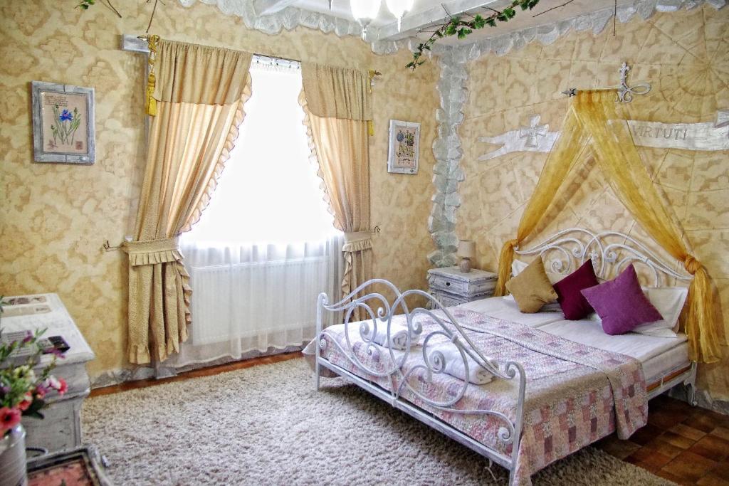 Ліжко або ліжка в номері Чорний Замок