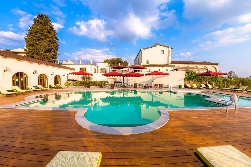 The swimming pool at or near Villa Tolomei Hotel & Resort
