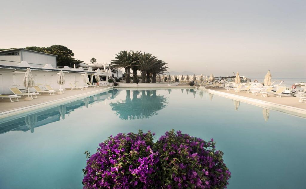 The swimming pool at or near Circeo Park Hotel