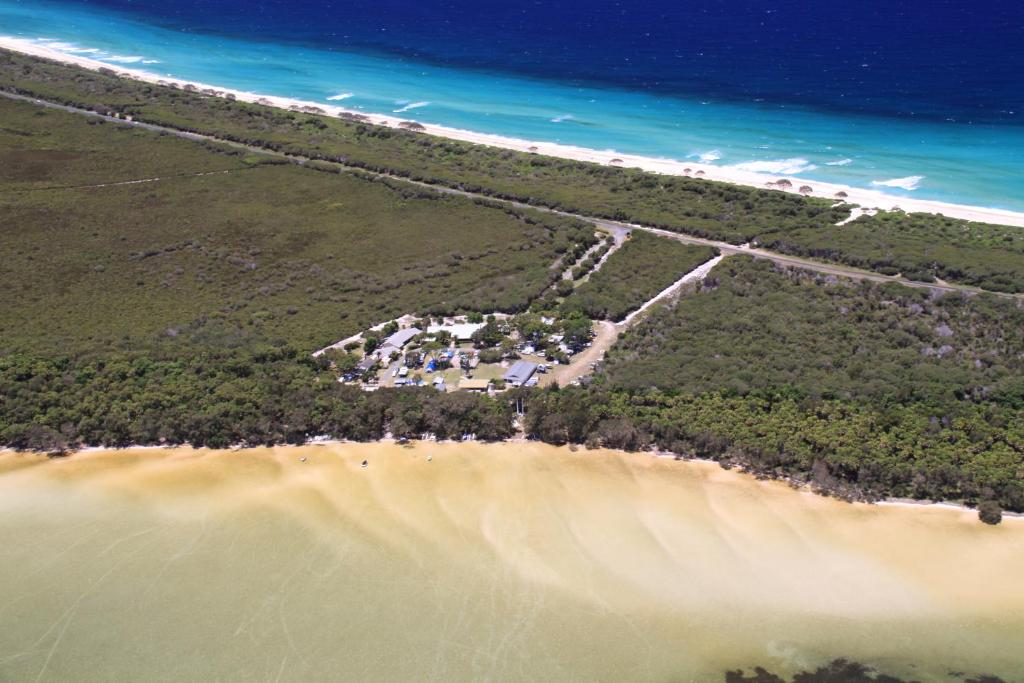 A bird's-eye view of Camp Elim