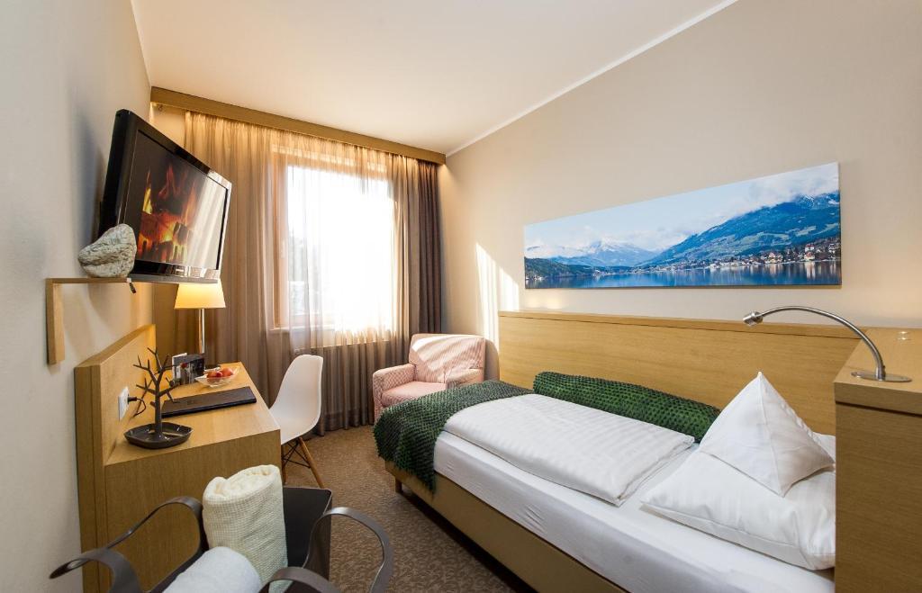 Гостиная зона в Hotel Moserhof