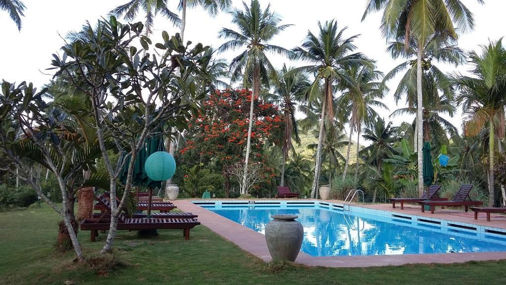 The swimming pool at or near Jim's Farm Villas