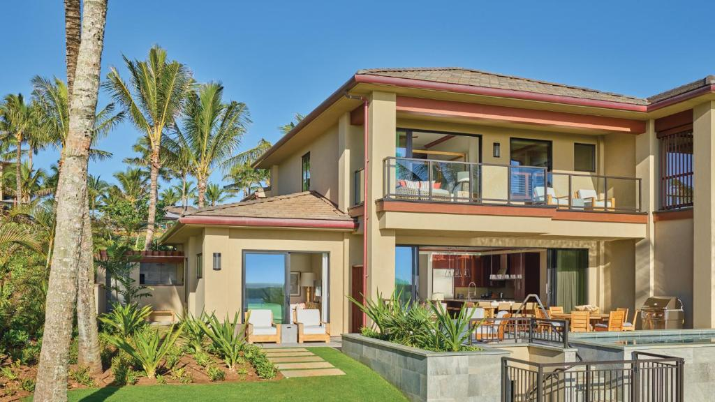 A townhouse at the Timbers Kauai Ocean Club and Residences.