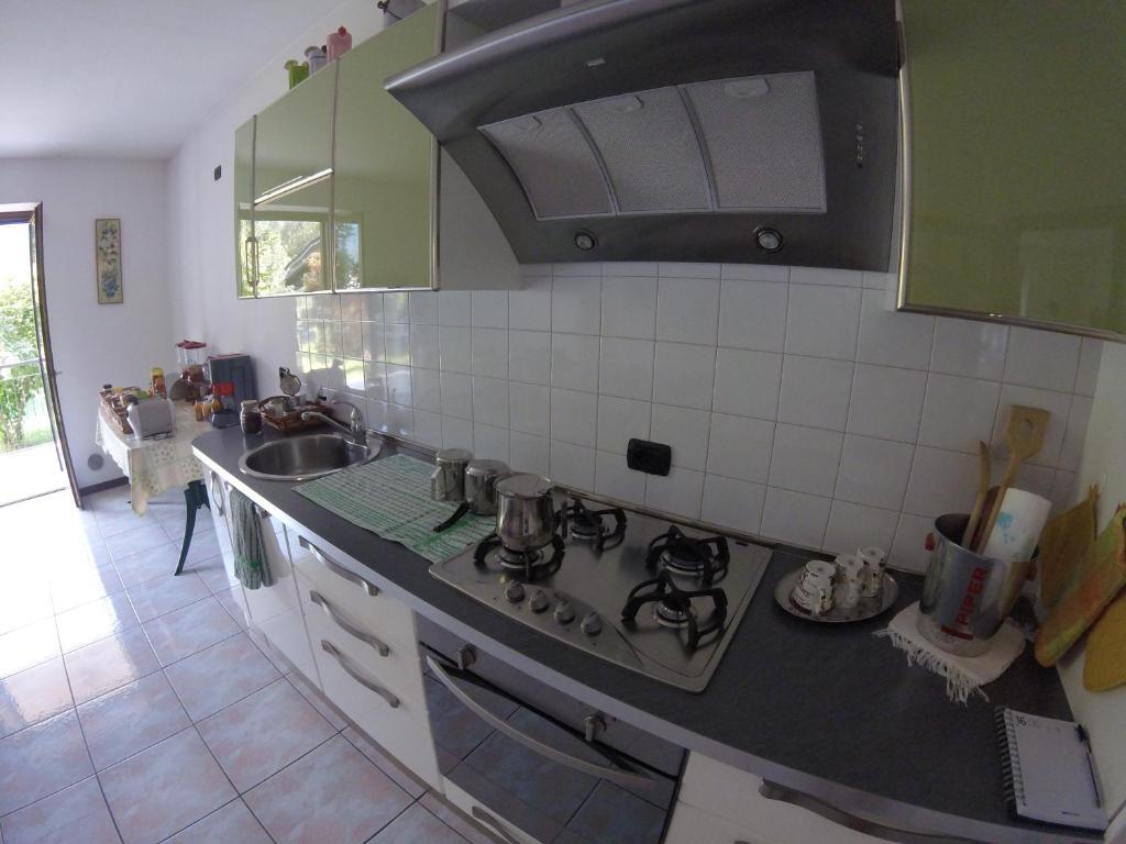 Cucina o angolo cottura di B&B Carunei
