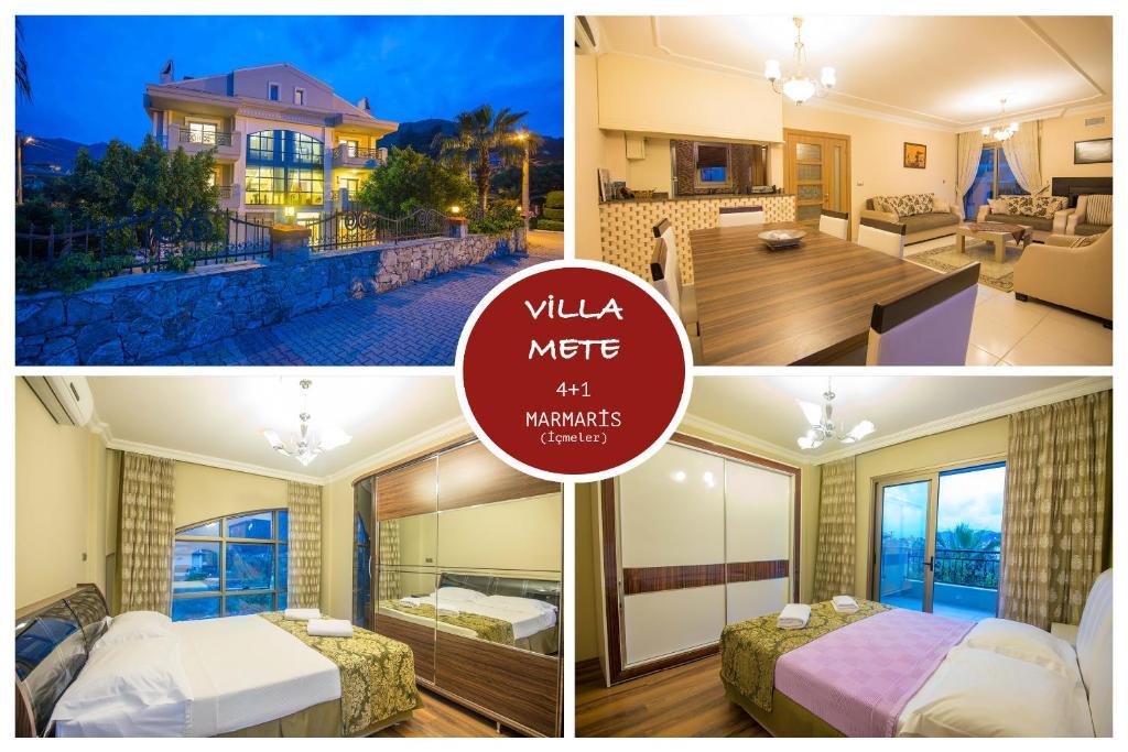 Villa Mete Icmeler Marmaris Daily Weekly Rentals