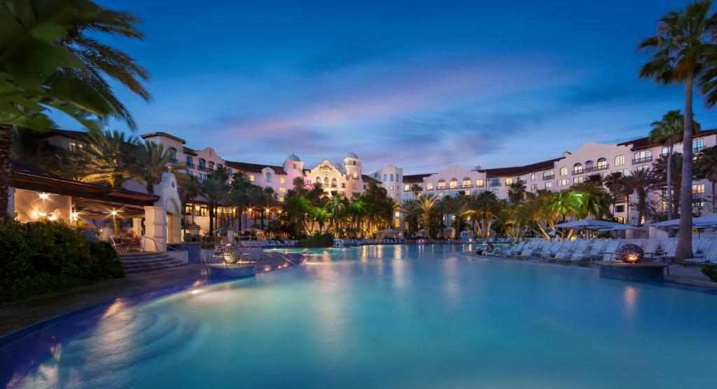 The swimming pool at or near Universal's Hard Rock Hotel®